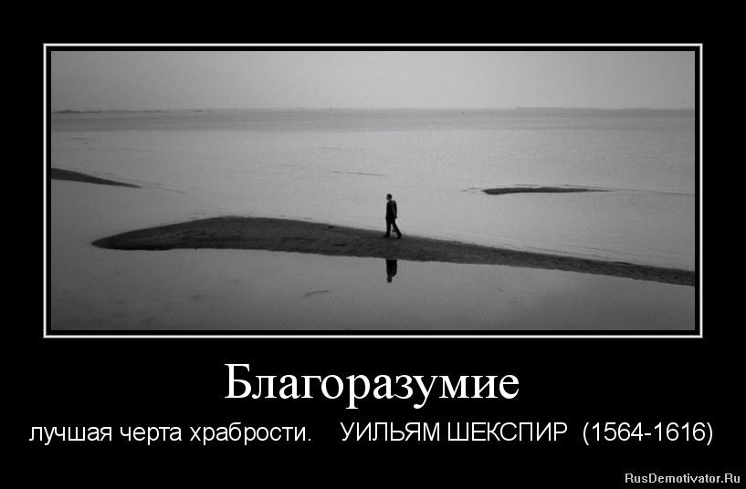 Благоразумие - лучшая черта храбрости. УИЛЬЯМ ШЕКСПИР (1564-1616)