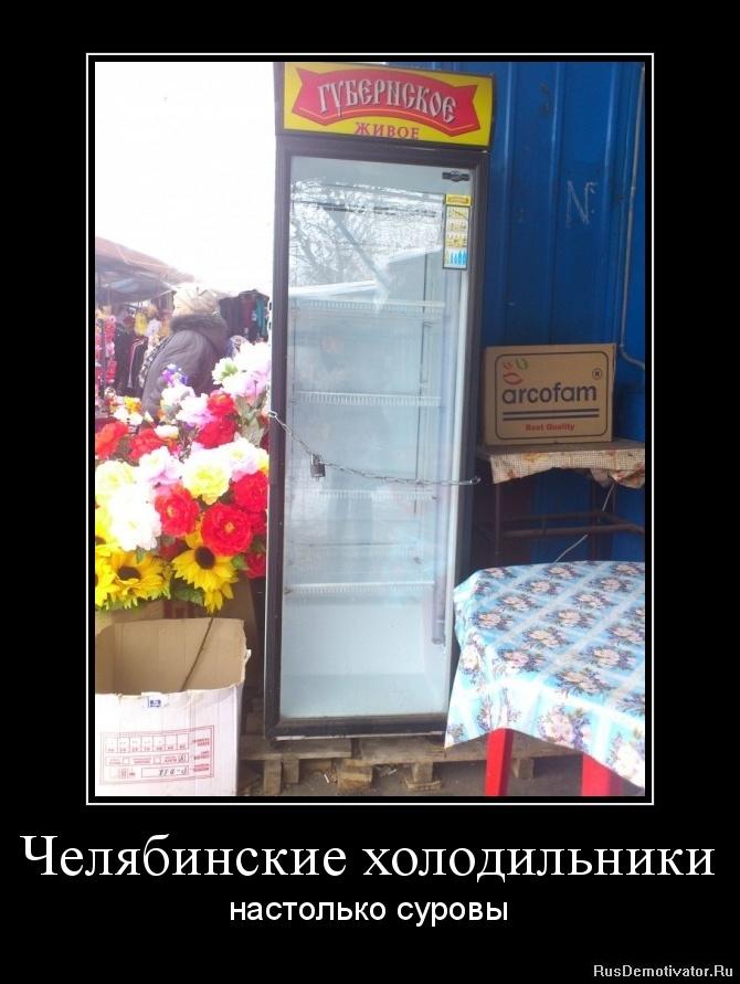 Челябинские холодильники - настолько суровы