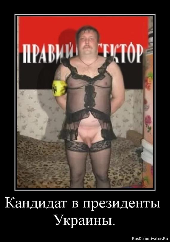 Кандидат в президенты  Украины.