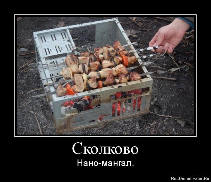 Сколково - Нано-мангал.