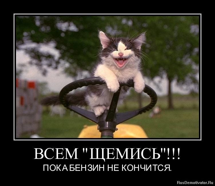 """ВСЕМ """"ЩЕМИСЬ""""!!! - ПОКА БЕНЗИН НЕ КОНЧИТСЯ."""