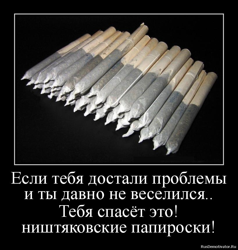 Если тебя достали проблемы и ты давно не веселился.. Тебя спасёт это! ништяковские папироски!