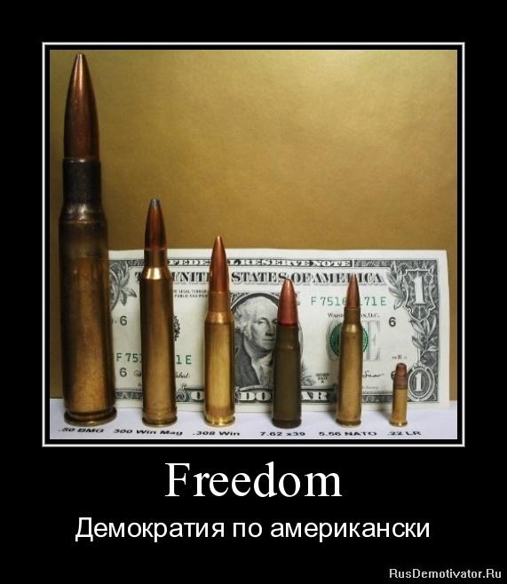 Freedom - Демократия по американски