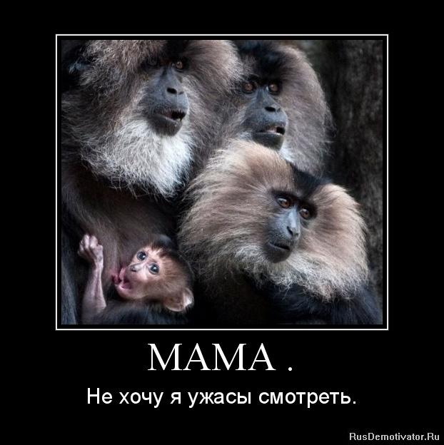 Демотиваторы пользователей мама