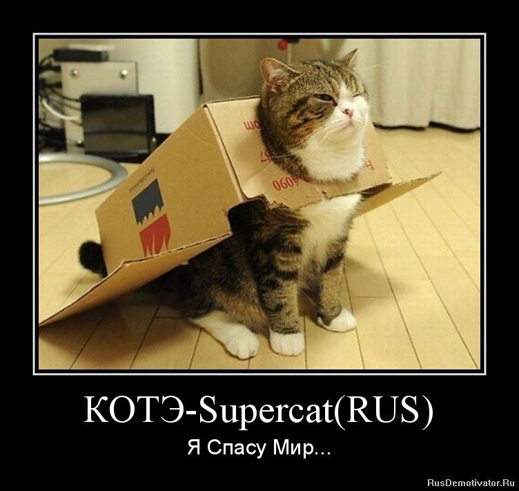 КОТЭ-Supercat(RUS) - Я Спасу Мир...