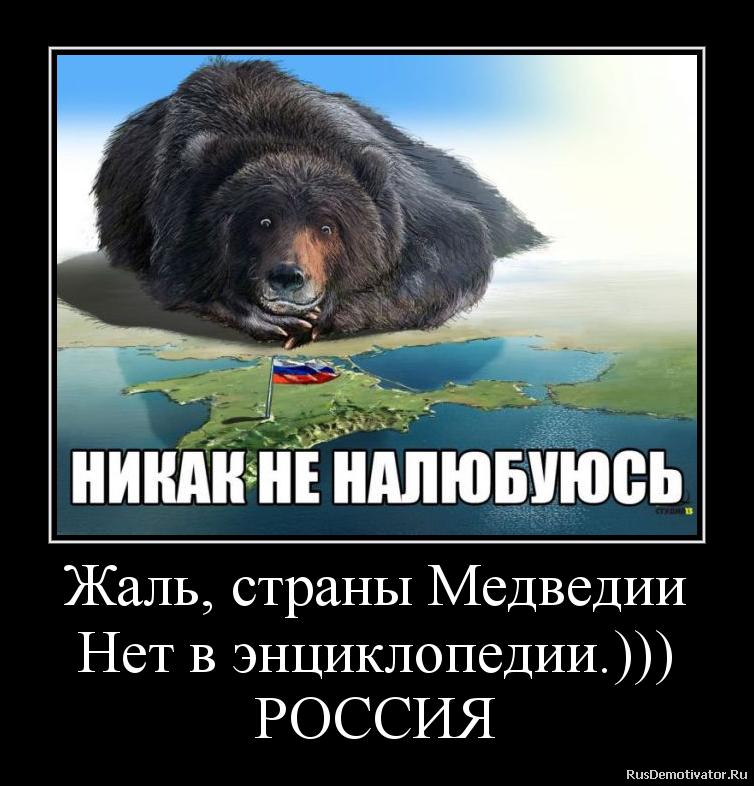 Жаль, страны Медведии Нет в энциклопедии.))) РОССИЯ