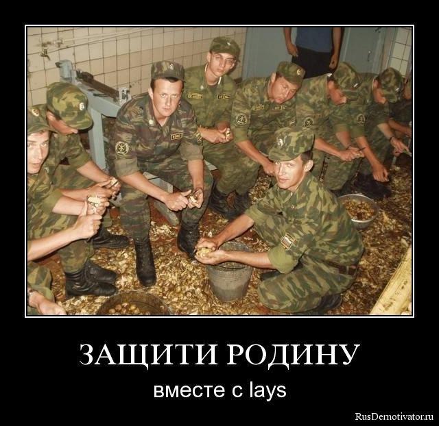 ЗАЩИТИ РОДИНУ - вместе с lays