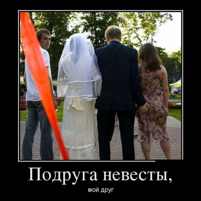 Подруга невесты, мой друг
