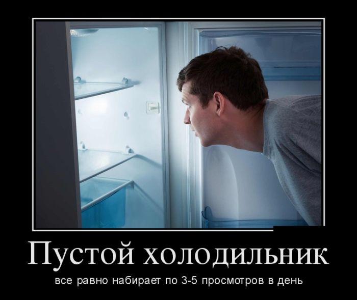 Пустой холодильник все равно набирает по 3-5 просмотров в день