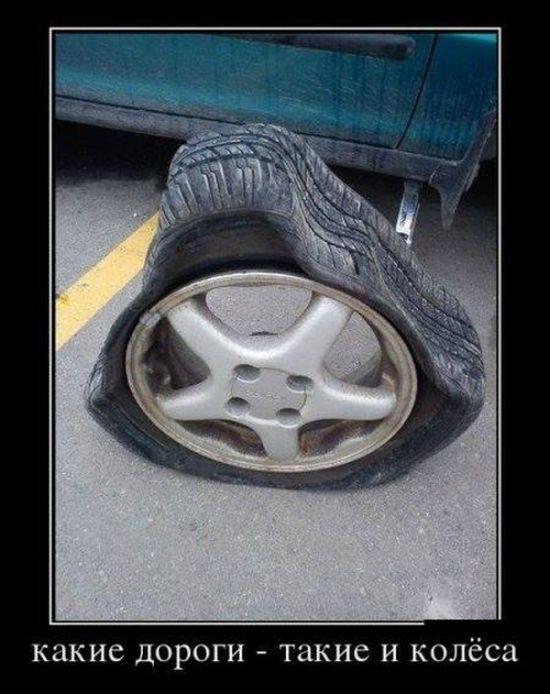 какие дороги - такие и колёса